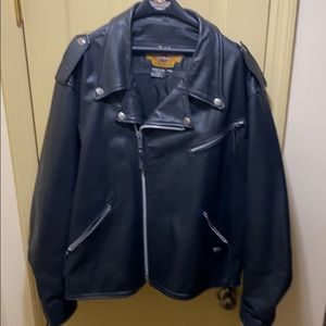 Harley Davidson leather riding jacket Size 3XL
